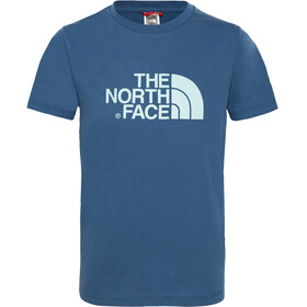 The North Face Easy S/S Tee Youth shady blue/canal blue